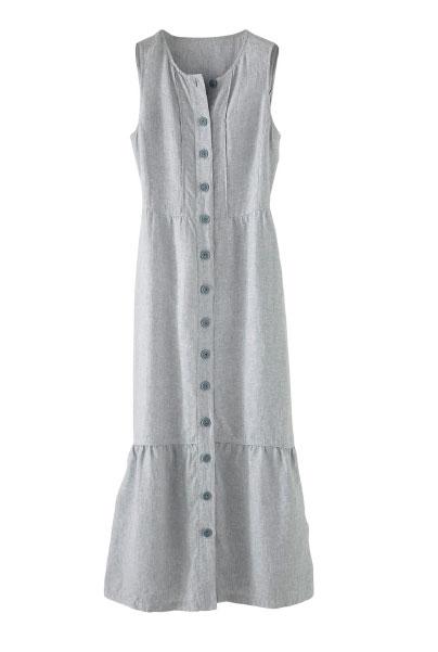 Linen Maxi-dress