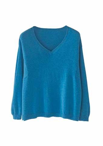 Boxy Cashmere Sweater