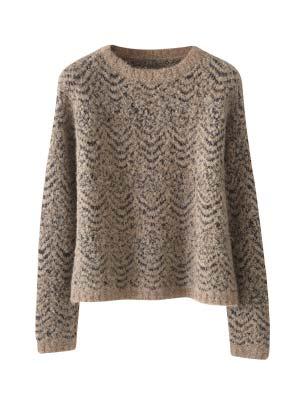 Alpaca Cotton Stitchdetail Sweater