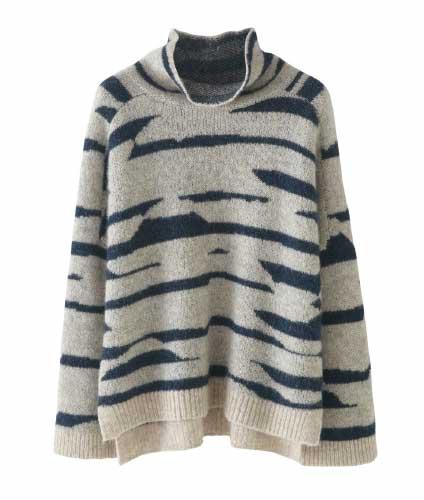 Alpaca Merino Jacquard Sweater