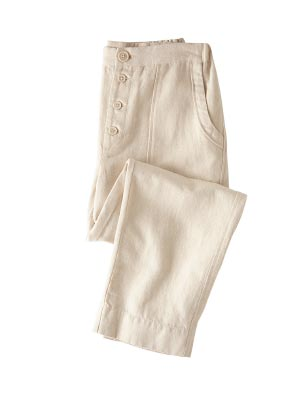 Linen Cotton Trousers