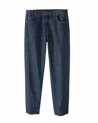 Selvedge Straight-leg Jeans