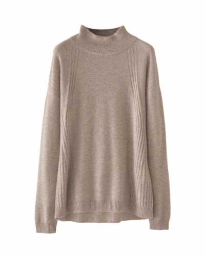 Cashmere High-neck Sweater