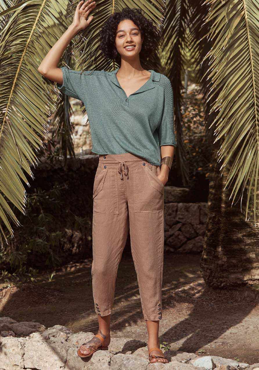 Must have linen trousers